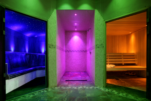 Sauna and Steam Room, Village Farm Health Club, Northumberland
